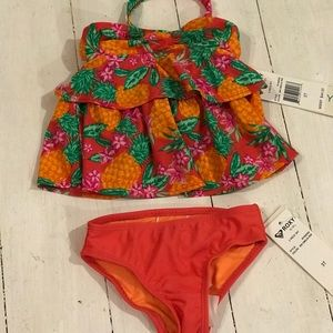 NWT Roxy two piece bathing suit